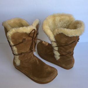 Earth Kalso Mirage 2 Leather Suede Boot